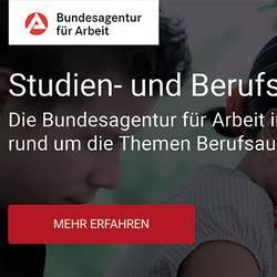 Banner Bundesagentur für Arbeit