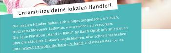 Hand-in-Hand - Unterstütze deine lokalen Händler [(c) Thomas Hetzel]