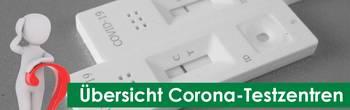 Übersicht Corona Testzentren [(c) Thomas Hetzel]